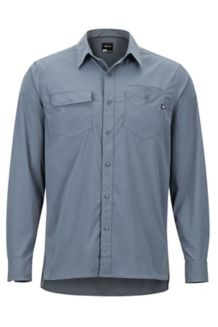 Kapalino LS Shirt, Steel Onyx, medium