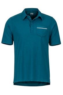 Laight Polo SS Shirt, Turkish Tile, medium