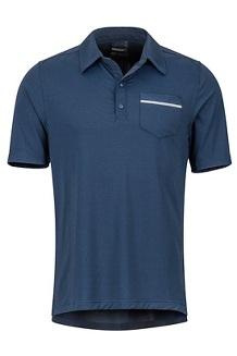 Laight Polo SS Shirt, Arctic Navy, medium