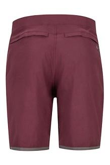 North McDowell Shorts, Burgundy, medium