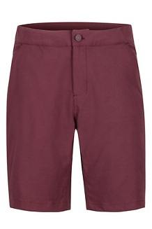 North McDowell Shorts, Burgundy, medium