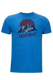 Pikes Peak Marmot x Thread Tee, New Royal Heather, medium