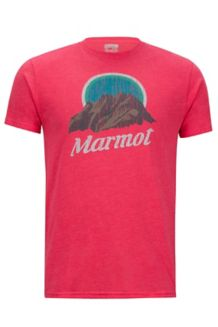 Pikes Peak Marmot x Thread Tee, Red Heather, medium