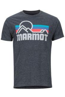 Marmot Coastal SS Tee, Charcoal Heather, medium