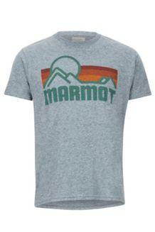 Marmot Coastal SS Tee, Ash Heather, medium