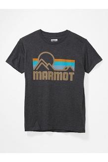 Men's Coastal Short-Sleeve T-Shirt, Charcoal Grey Heather, medium