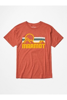 Men's Coastal Short-Sleeve T-Shirt, Picante Heather, medium