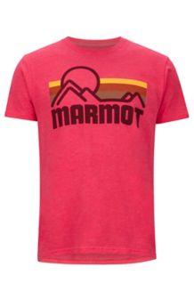 Marmot Coastal Tee SS, Red Heather, medium