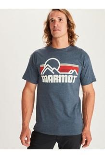 Men's Coastal Short-Sleeve T-Shirt, True Navy Heather, medium