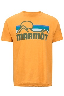 Men's Marmot Coastal Short-Sleeve T-Shirt, Aztec Gold Heather, medium