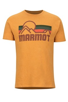 Men's Marmot Coastal Short-Sleeve T-Shirt, New Aztec Gold Heather, medium