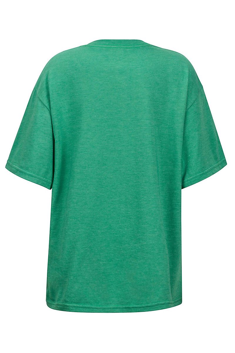 Boy's Purview Tee SS, Emerald Heather, large