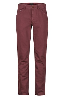 Men's Morrison Jeans - Short, Burgundy, medium