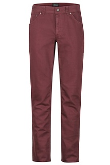 Men's Morrison Jeans, Burgundy, medium