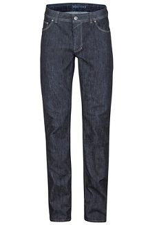 Men's Pipeline Regular Fit Jeans - Long, Dark Indigo, medium