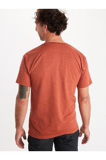 Men's Pom Pom Short-Sleeve T-Shirt, Picante Heather, medium