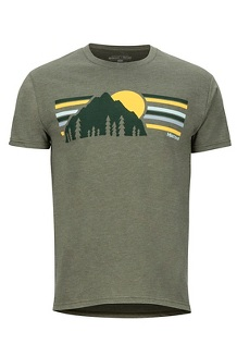Men's Explorer Short-Sleeve T-Shirt, Olive Heather, medium