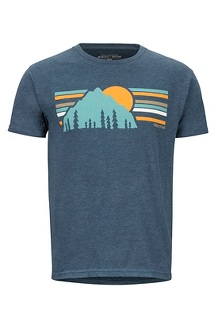 Men's Explorer Short-Sleeve T-Shirt, Navy Heather, medium