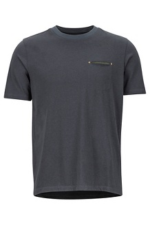 Men's Ryegate Short-Sleeve T-Shirt, Dark Steel, medium