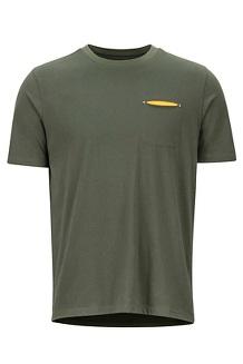 Men's Ryegate Short-Sleeve T-Shirt, Crocodile, medium