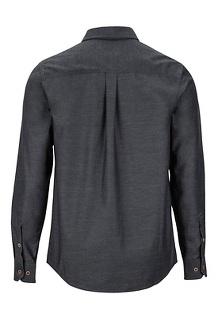 Men's Kingsbury Long-Sleeve Shirt, Dark Steel, medium