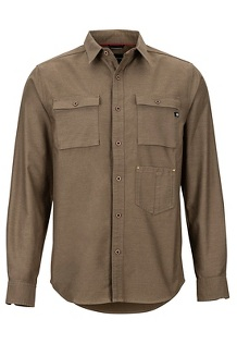Men's Kingsbury Long-Sleeve Shirt, Cavern, medium
