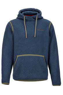 Men's Lost Corner Hoody, Dark Indigo, medium