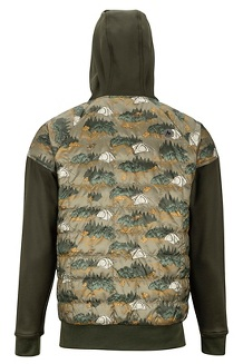 Men's Martis Peak Hoody, Camping Camo/Rosin Green, medium