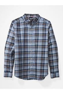 Men's Harkins Lightweight Flannel Long-Sleeve Shirt, Dusk, medium