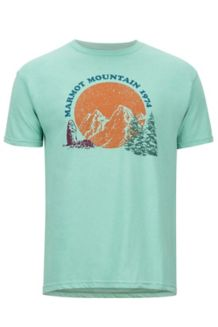 Boback SS Tee, Pond Green Heather, medium