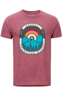 Daybreak SS Tee, Burgundy Heather, medium