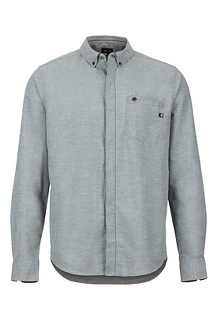 Cooper Canyon LS Shirt, Slate Grey, medium