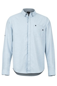 Cooper Canyon LS Shirt, Celestial Blue, medium