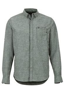 Cooper Canyon LS Shirt, Crocodile, medium