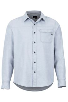Tumalo LS Shirt, Steel Onyx, medium