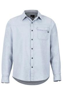Tumalo LS Shirt, Steel Onyx, medium