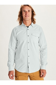 Men's Tumalo Long-Sleeve Shirt, Crushed Mint, medium