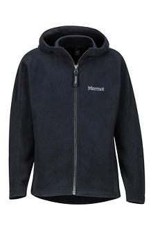 Boys' Rocklin Hoody, Black, medium