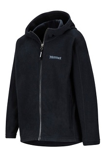 Girls' Rocklin Hoody, Black, medium
