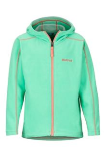 Girls' Rocklin Hoody, Double Mint, medium