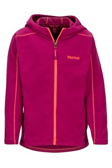 Girls' Rocklin Hoody, Purple Berry, medium