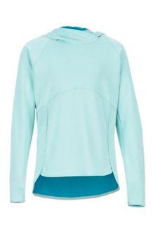Girls' Sunrift Hoody, Blue Tint, medium
