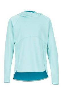 Girls' Sunrift Hoody, Blue Tint, medium