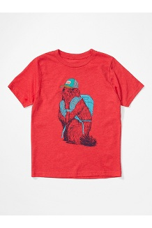Boys' Purview SS Tee, Team Red, medium