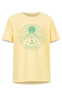 Girls' Nico Tee, Banana Cream Heather, medium