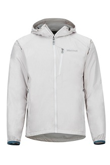 Men's Ether DriClime Hoody, Platinum, medium