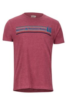 MMW SS Tee, Burgundy Heather, medium