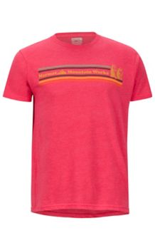 MMW SS Tee, Red Heather, medium
