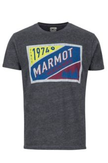 Mountain Tab SS Tee, Charcoal Heather, medium