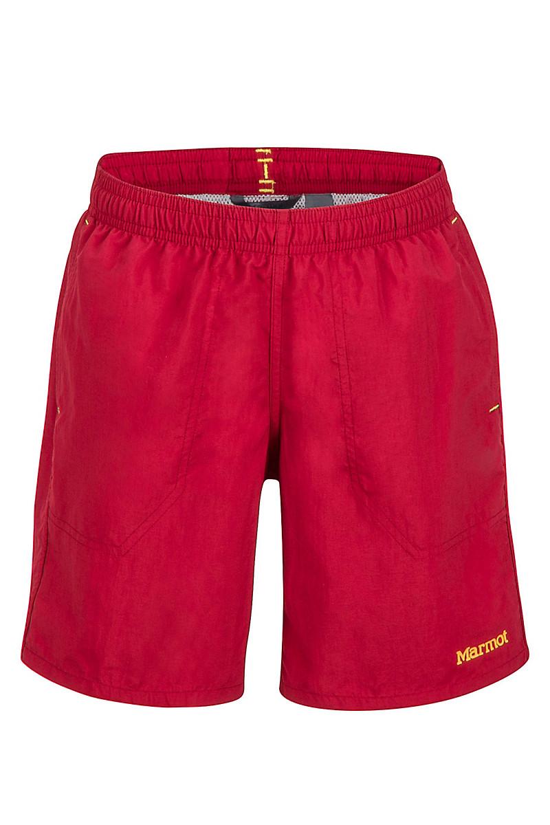 Boy's OG Short, Sienna Red, large